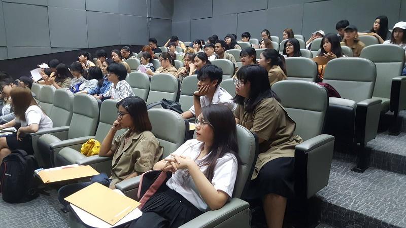 ปฐมนิเทศนิสิตฝึกงานภาคฤดูร้อน ประจำปีการศึกษา 2561 ภาควิชาศิลปะและการออกแบบ
