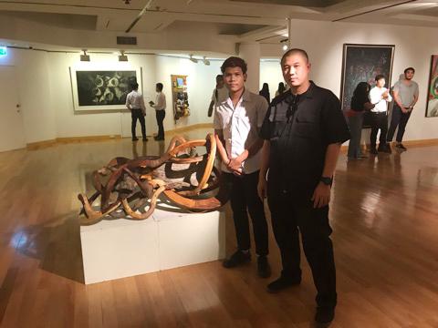 """นิสิตสาขาทัศนศิลป์เข้าร่วมแสดงผลงานศิลปนิพนธ์ ในนิทรรศการ """"ศิลปนิพนธ์ยอดเยี่ยม ปี 2562"""""""