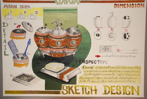 โครงการสัมนาเชิงปฏิบัติการ การออกแบบผลิตภัณฑ์จากผ้าขาวม้า (DIP Innovation & Design 2008)