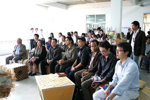 เปิดงานโครงการนิทรรศการศิลปกรรม ครั้งที่ 7 (7th DESIGN SHOW) เมื่อวันที่ 27 กุมภาพันธ์ 2552