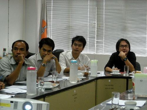 ประชุมการปรับปรุงหลักสูตร