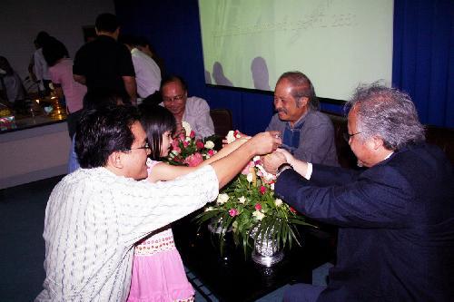 พิธีรดน้ำดำหัวเนื่องในวันสงกรานต์ 2551