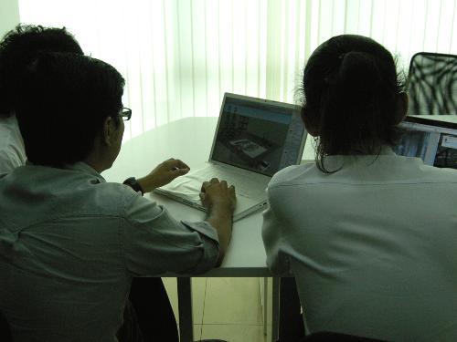 รายการคิดได้ไทยทำ ช่อง 7 เสนอข่าววาดภาพสี 3 มิติ บึงสีไฟ