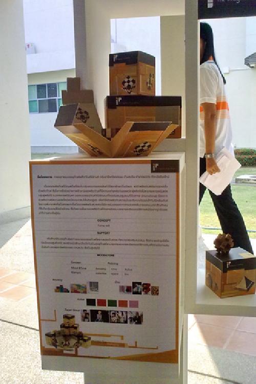 รางวัลการประกวดโครงการนิทรรศการโครงงานนิสิต ประจำปี 2553