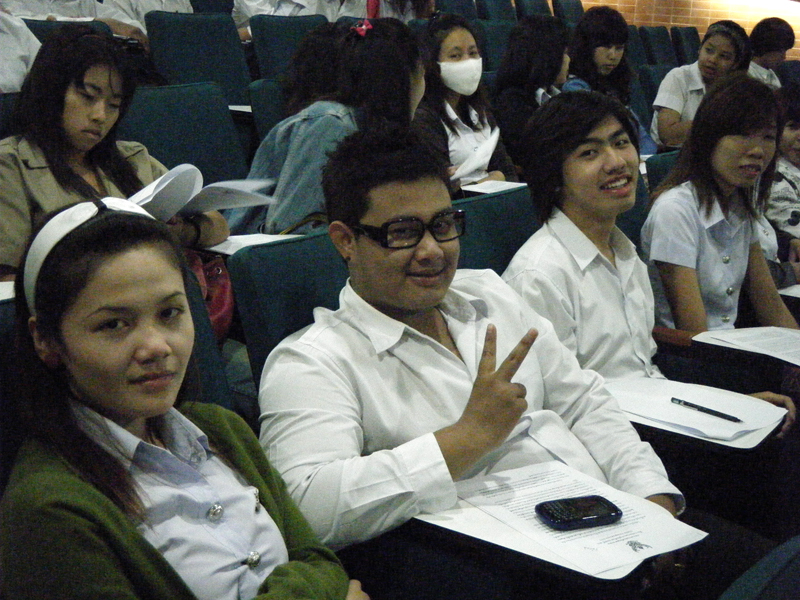 การประชาสัมพันธ์การประกวด ThaiStar 2010