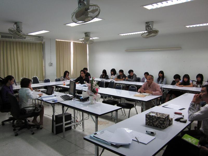 ประกันคุณภาพ ภาควิชาศิลปะและการออกแบบ ประจำปีการศึกษา 2553
