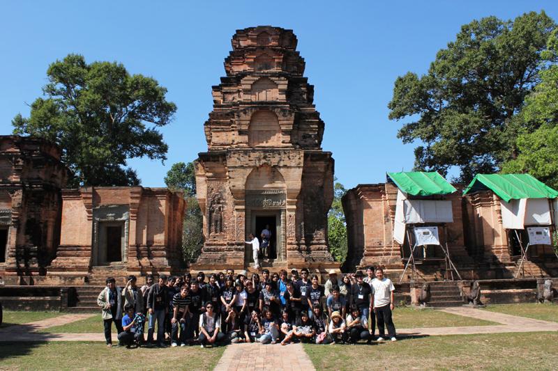 ทัศนศึกษา ณ เมืองเสียมเรียบ ประเทศกัมพูชา