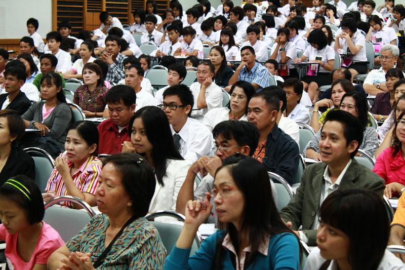 ปฐมนิเทศนิสิตใหม่ ประจำปีการศึกษา 2554