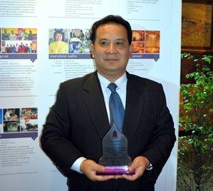 รศ.ดร.จิรวัฒน์ พิระสันต์ รับรางวัลผู้ทำคุณประโยชน์ต่อกระทรวงวัฒนธรรม ด้านศิลปะ