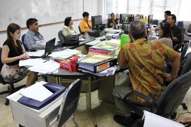 คณะสถาปัตยกรรมศาสตร์  ประกันคุณภาพการศึกษาภายใน ประจำปีการศึกษา 2554