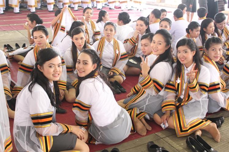 พิธีรับพระราชทานปริญญาบัตร ประจำปีการศึกษา 2554