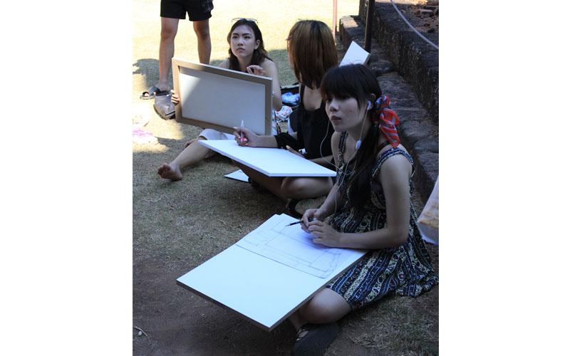 โครงการทัศนศึกษา และฝึกปฏิบัติงานนอกสถานที่ ณ ปราสาทหินถิ่นอีสานใต้