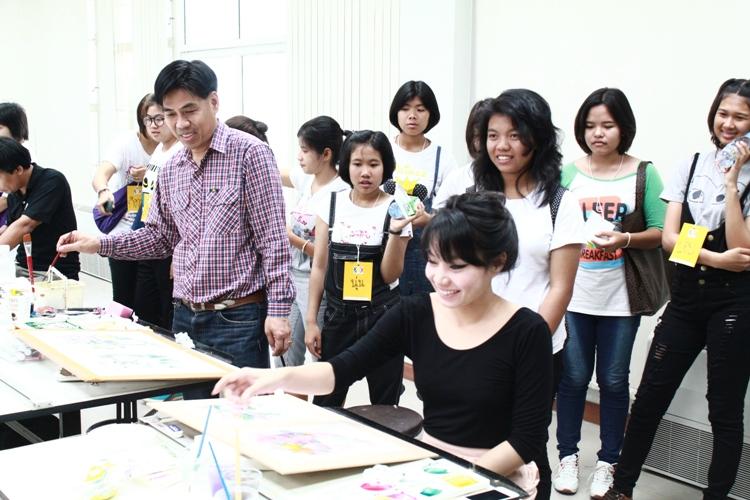 โรงเรียนรัชดาวิชาการพิษณุโลก ทัศนศึกษาดูงาน คณะสถาปัตยกรรมศาสตร์