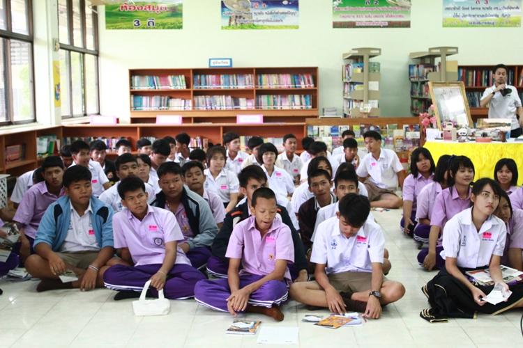 มน.แนะแนวสัญจร ณ โรงเรียนเครือข่าย (ระยะที่ 2) โรงเรียนคลองขลุงราษฎร์รังสรรค์และโรงเรียนวัชรวิทยา จังหวัดกำแพงเพชร