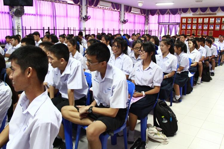 มน.แนะแนวสัญจร ณ โรงเรียนเครือข่าย (ระยะที่ 2) โรงเรียนสุโขทัยและโรงเรียนสวรรค์อนันต์วิทยา จังหวัดสุโขทัย