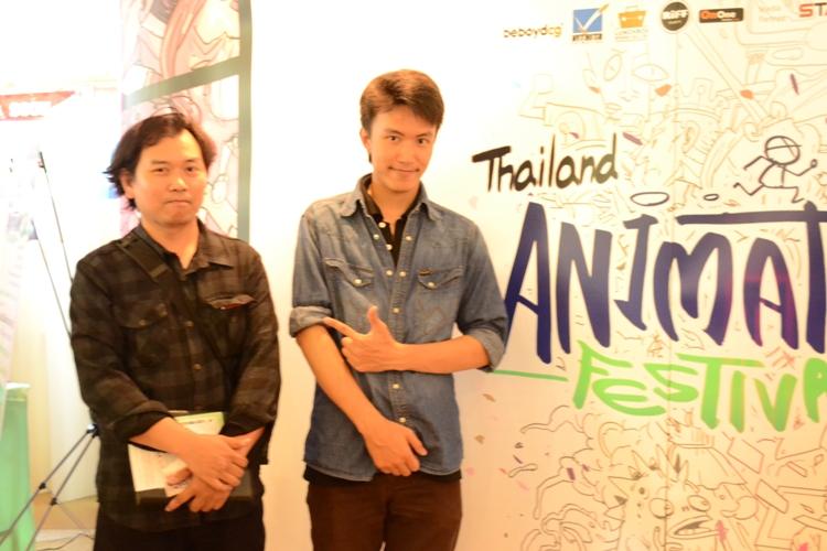"""นิสิตคณะสถาปัตยกรรมศาสตร์ คว้ารางวัล """"Thailand Animator Festival #2"""