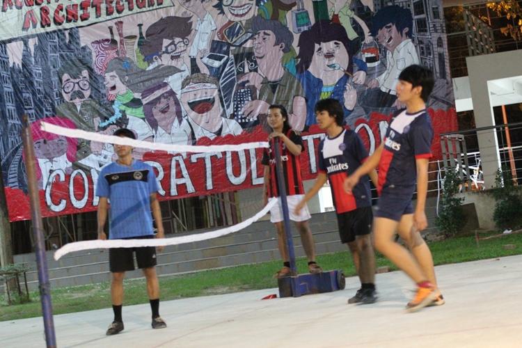 โครงการ ARCH Cup ครั้งที่ 4  (กีฬาภายในคณะ) ประจำปีการศึกษา 2556