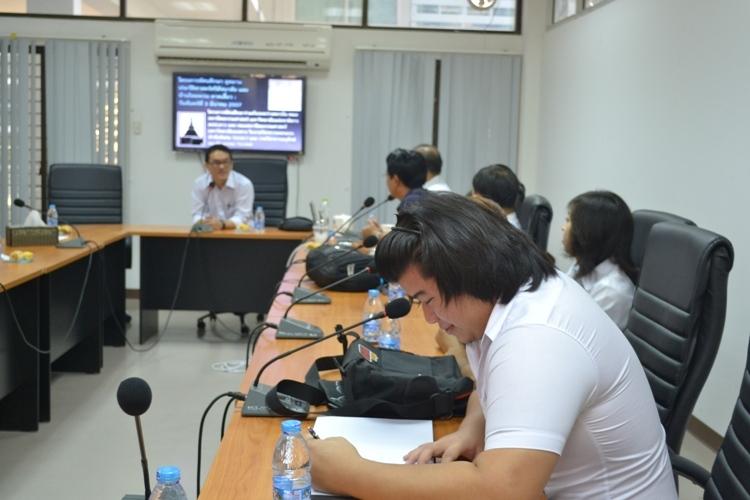 โครงการทัศนศึกษาร่วมกัน (MOU) ระหว่างคณะสถาปัตยกรรมศาสตร์ มหาวิทยาลัยแห่งชาติลาว สปป.ลาว และ คณะสถาปัตยกรรมศาสตร์ มหาวิทยาลัยนเรศวร