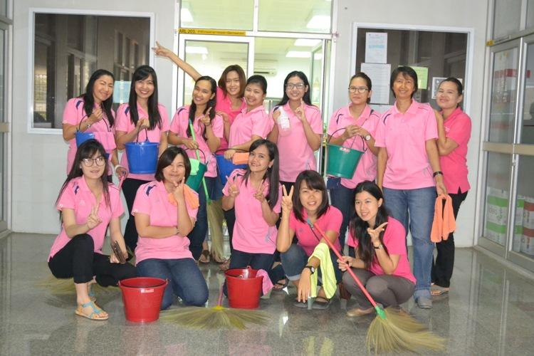 โครงการ Big Cleaning Day  ประจำปีการศึกษา 2556