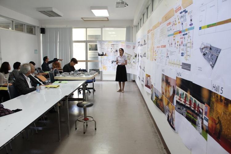 ตรวจวิทยานิพนธ์ นิสิต ชั้นปีที่ 5 ประจำการศึกษา 2556 สาขาวิชาสถาปัตยกรรม