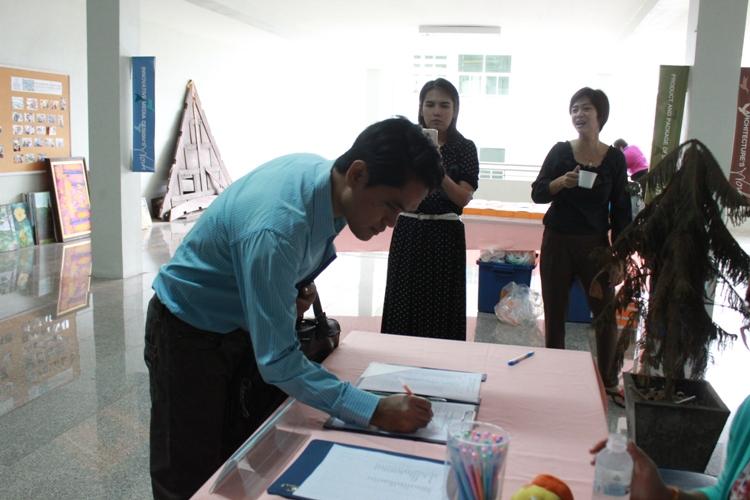 โครงการ สัมมนาบุคลากรเพื่อประเมินและพัฒนาแผนการดำเนินงาน คณะสถาปัตยกรรมศาสตร์  ประจำปี 2557