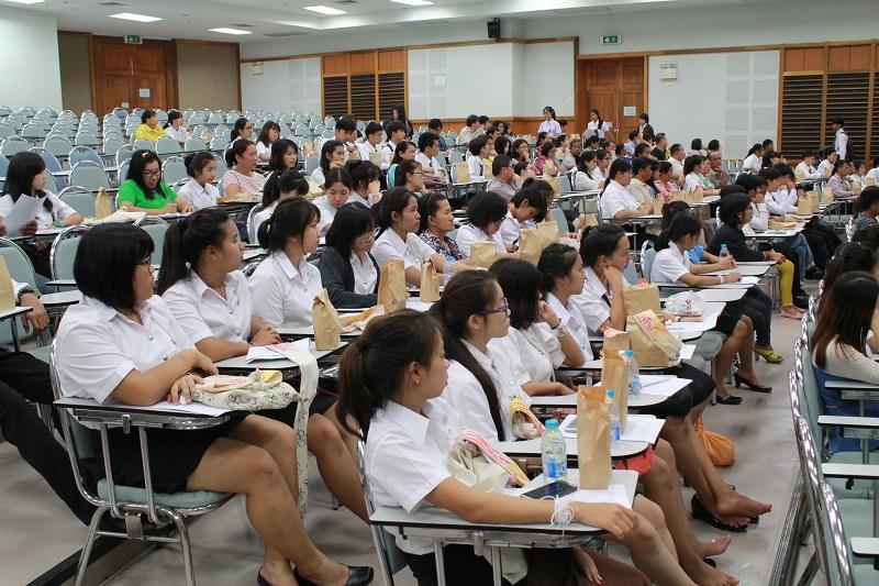 ปฐมนิเทศนิสิตใหม่ปีการศึกษา 2558