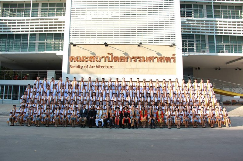 พิธีพระราชทานปริญญาบัตรประจำปีการศึกษา 2557