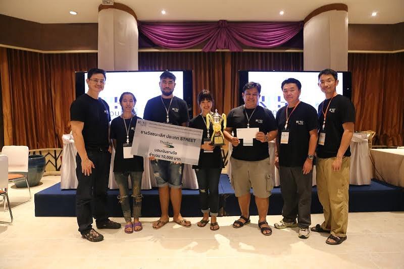 นิสิตได้รับรางวัลชนะเลิศ ในหัวข้อ Street การประกวดโครงการ  RPST YOURS ครั้งที่ 3 ประจำปี 2558