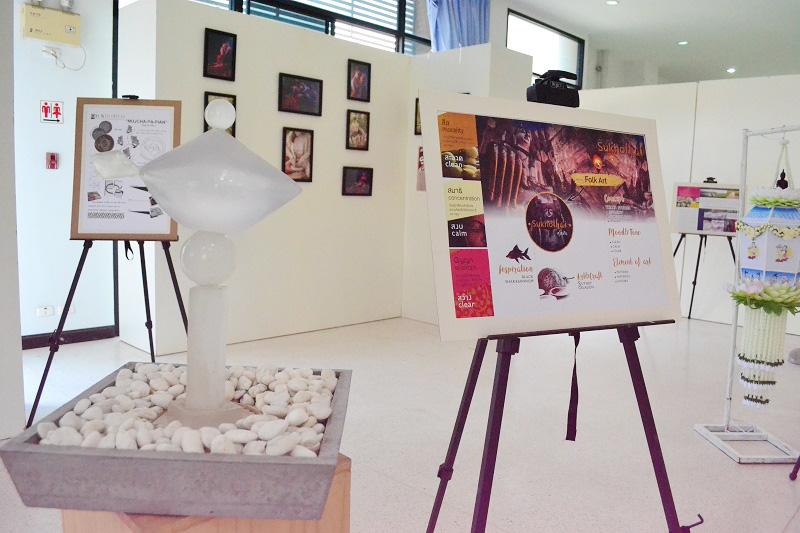 """นิทรรศการศิลปะ """"Sukhothai"""" ศิลปะเพื่อชุมชน แรงบันดาลใจจากการลงพื้นที่ชุมชนจังหวัดสุโขทัย"""