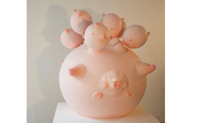 """นิสิตสาขาออกแบบทัศนศิลป์ ได้รับรางวัลเกียรตินิยม เหรียญเงิน """"ศิลป์ พีระศรี"""" ศิลปกรรมร่วมสมัยของศิลปินรุ่นเยาว์ ครั้งที่ 34 ประจำปี 2560"""