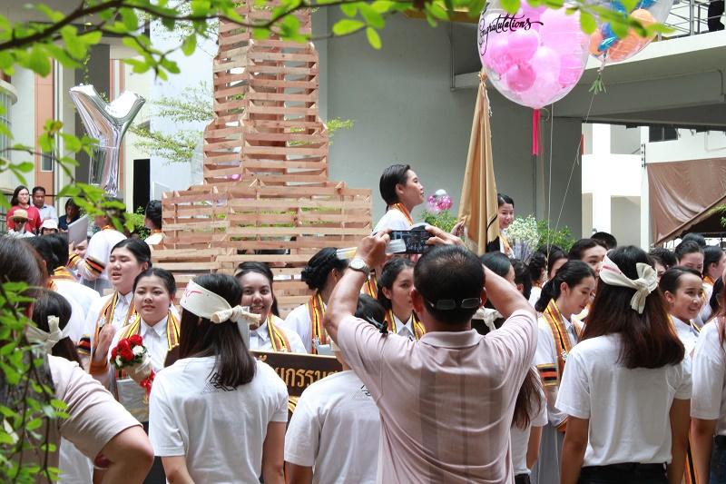 พิธีพระราชทานปริญญาบัตรประจำปีการศึกษา 2559