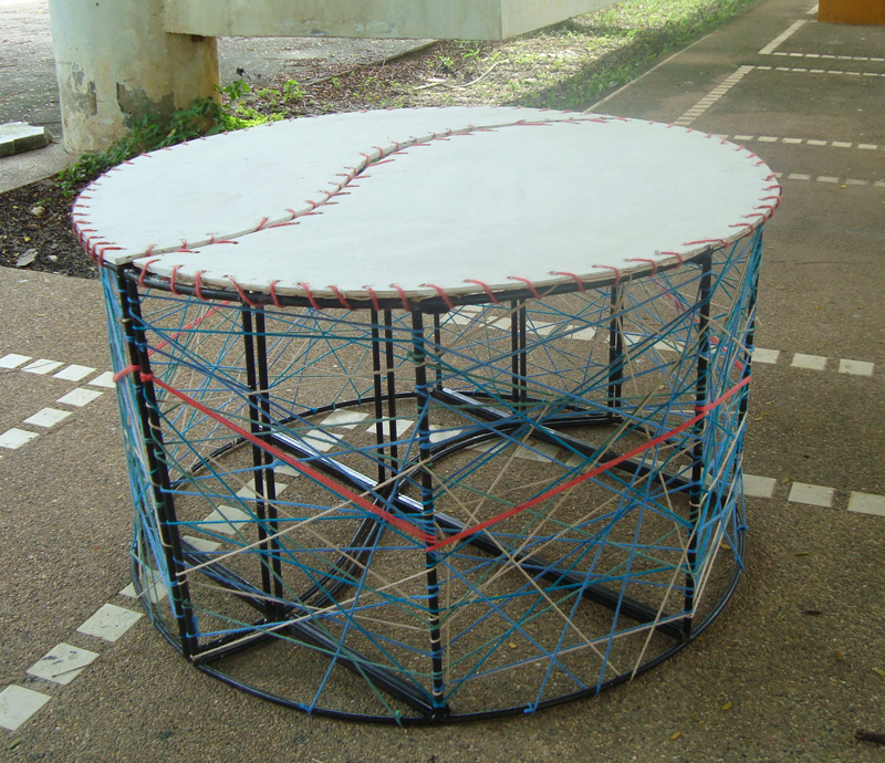 Foundation of Visual Design - Subject.Sculpture.Stall&Chair Design