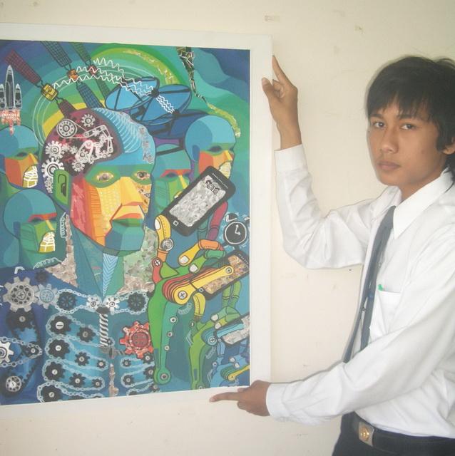 พื้นฐานองค์ประกอบศิลป์ ภาคเรียนที่ 2/2553 สัปดาห์ที่ 4