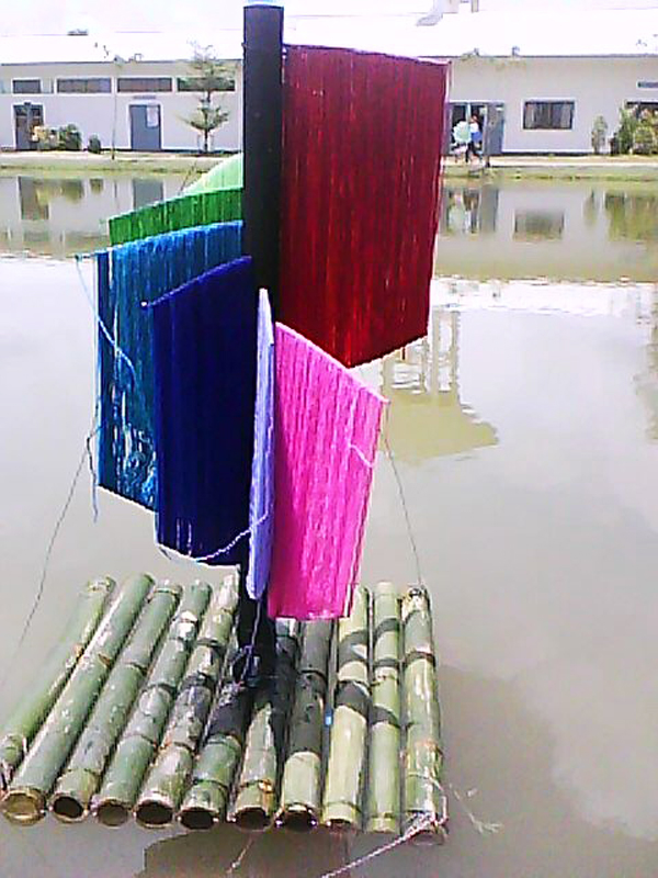 Foundation of Visual Design - Subject.Floating Sculpture
