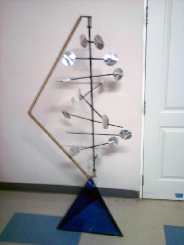 Foundation of Visual Design - Subject.Kinetic Sculpture